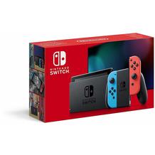 Nintendo Switch (2019 Edition), neon-rot / neon-blau