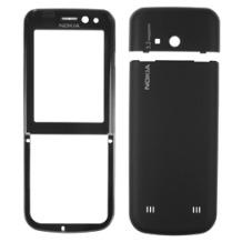 Nokia Gehäuseset 3-teilig für 6730 Classic, schwarz