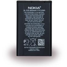 Nokia BL-5CB - Li-ion Akku - 1616, 1800, C1-01, C1-02 - 800mAh