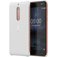 Nokia Carbon Fibre Design Case CC-803 for Nokia 5 Pearl White