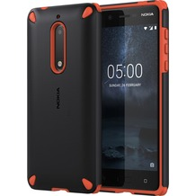 Nokia Rugged Impact Case CC-502 for Nokia 5 Orange Black