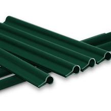 NOOR 15 Premium Klemmschienen für Sichtschutzstreifen Farbe grün ~RAL6005