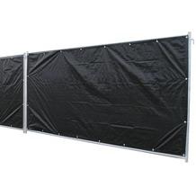 NOOR Bauzaunplane Profi 140 g/m² 1,76 x 3,41 m schwarz