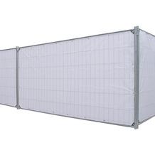 NOOR Bauzaunplane Profi 140 g/m² 1,76 x 3,41 m weiß