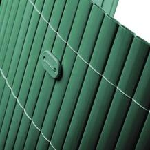 NOOR Befestigungskit für PVC Sichtschutzmatten 26 Stück Farbe grün