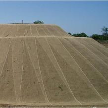 NOOR Erosionsschutzmatte Jute Netz 1,22x50m 250 g/m²