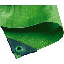 NOOR Abdeckplane Hobby 120g/m² Gewebeplane ca. Größe 6x8 m Farbe grün