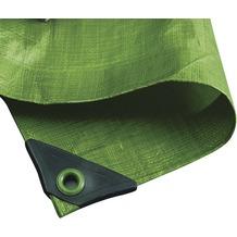 NOOR Abdeckplane Hobby 120g/m² Gewebeplane ca. Größe 8x10 m Farbe grün