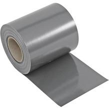 NOOR Sichtschutzstreifen PVC Zaunblende 0,19x35 m Zaun Farbe steingrau (RAL 7030)
