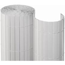 NOOR Sichtschutzmatte PVC Sichtschutz Kunststoff ca. Größe 0,90x3 m Farbe weiß