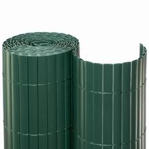 NOOR Sichtschutzmatte PVC Sichtschutz Kunststoff 10m ca. Größe 0,90x10 m Farbe grün