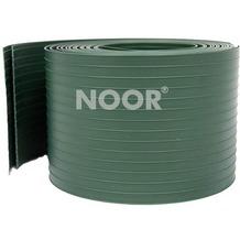 NOOR Sichtschutzstreifen PVC 9,5 cm x 2,55 m 2 Stück Farbe grün (RAL 6005)