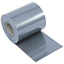 NOOR Sichtschutzstreifen PVC Zaunblende 0,19x35 m Zaun Farbe hellgrau (RAL 7040)
