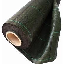 NOOR Unkrautfolie Bodengewebe Profirolle Unkrautblocker ca. Größe 2,0x100 m Qualität105 gr/m²