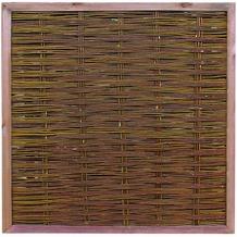 NOOR Weidenzaun Deluxe ca.Größe (HxB) 120 x 120 cm
