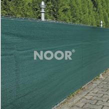 NOOR Zaunblende Sichschutz Profiware grün 250g/m² geöst ca. Größe 1,8x25 m