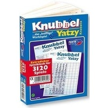 Noris 606194305 - Spielblock Knubbel Yatzy