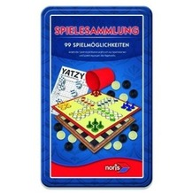 Noris Spielesammlung 99 Spielmöglichkeiten in Metallbox