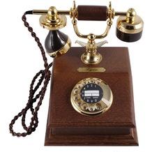 HDK Holz-Nostalgietelefon Lyon