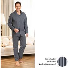 Novila Pyjama Marco 1/1 marine/gem. 48