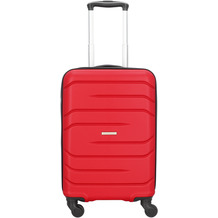 NOWI Milano 5.0 4-Rollen Kabinentrolley 55 cm rot