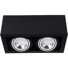 Nowodvorski BOX BLACK II ES 111 schwarz