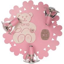 Nowodvorski HONEY 3er Spot-Rondell pink