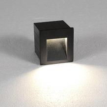 Nowodvorski STEP graphite LED Wandeinbauleuchte anthracit