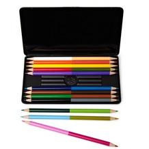 NPW 50/50 Bleistifte - 2 Farben - 2 Seiten
