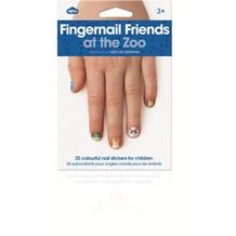 NPW Fingernagel Freunde auf dem Zoo - Nagelaufkleber für Kinder
