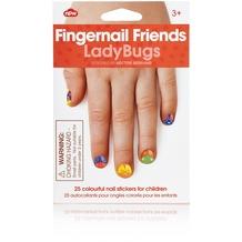 NPW Fingernagel Freunde Marienkäfer - Nagelaufkleber für Kinder
