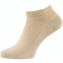 """nur der Herren """"Air Comfort Sneaker Socke""""  leinen 39-42"""
