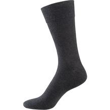 """nur der Herren """"98% Baumwolle Komfort Socke"""" anthrazitmel. 39-42"""