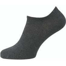 """nur der Herren """"Sneaker Baumwolle 2er Pack"""" anthrazitmel. 39-42"""