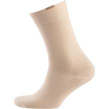 nur der Herren Passt Perfekt Socken 3er beige 39-42
