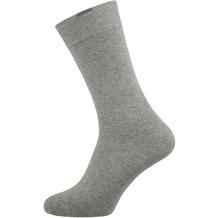 """nur der Herren """"Passt Perfekt Socken 3er"""" hellgraumelange 39-42"""