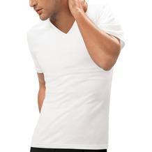 nur der T-Shirt 3D-Flex V-Ausschnitt weiß 5 = M