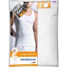 nur der Unterhemd Classic 100% Cotton DP-030 weiß 5