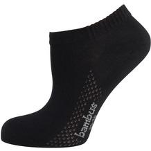 "nur die Damen ""Bambus Sneaker Socke"" schwarz 35-38"