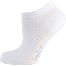 """nur die Damen """"Bambus Sneaker Socke"""" weiß 35-38"""