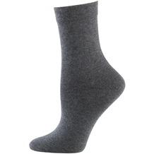 """nur die Damen """"Ohne Gummi Socken 3er"""" graumel. 35-38"""