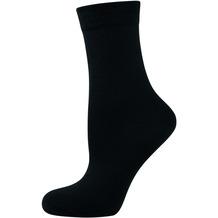 """nur die Damen """"Ohne Gummi Socken 3er"""" schwarz 35-38"""