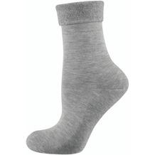 """nur die Damen """"Pflege & Komfort Relax Socke"""" hellgraumel. 35-38"""