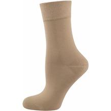"""nur die Damen """"Pflege & Komfort Socke"""" leinen 35-38"""