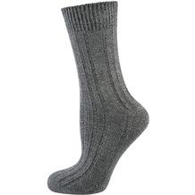 "nur die Damen ""Warme Socke"" graumel. 35-38"
