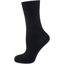 "nur die Damen ""Warme Socke"" schwarz 35-38"