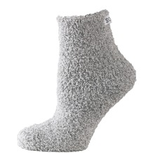 """nur die Damen """"Wohlfühl Socke""""-017 graumel. 35-38"""