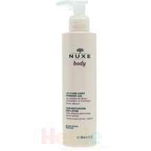 NUXE Body 24Hr Moisturising Body Lotion Dry Skin - With Almond and Orange Flower Petals 200 ml