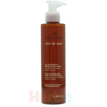 NUXE Reve De Miel Face Cleansing & Makeup Removing Dry And Sensitive Skin, Reinigungsgel 200 ml