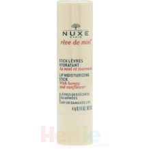 NUXE Reve De Miel Lip Moisturizing Stick With Honey And Sunflower / Dry or damaged lips 4 gr